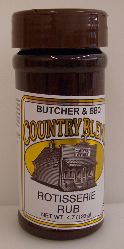 Country Blend Rotisserie Rub 4.7oz
