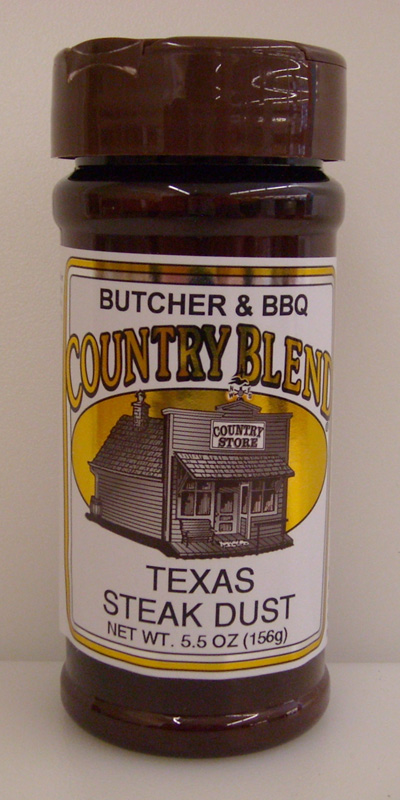 Country Blend Texas Steak Dust 5.5oz THUMBNAIL