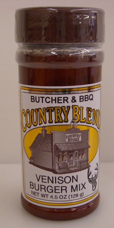 Country Blend Venison Burger Mix 4.5oz THUMBNAIL