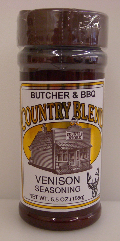 Country Blend Venison Seasoning 5.5oz