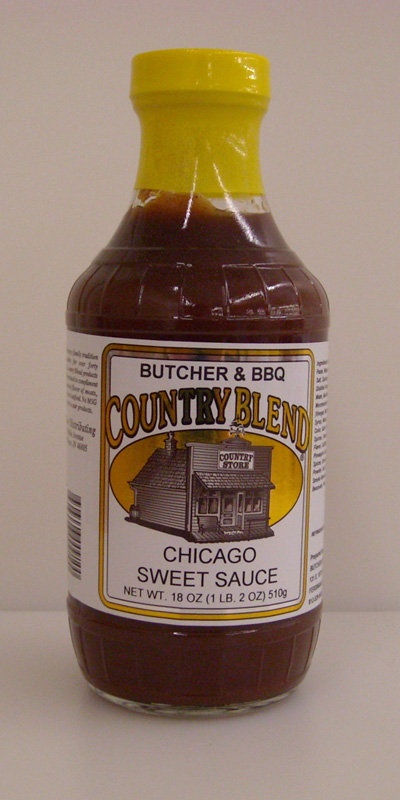 Country Blend Chicago Sweet Barbecue Sauce