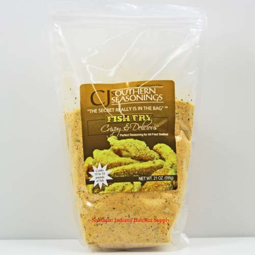 CJ's Southern Seasonings Fish Fry Breading 21 Ounce Bag