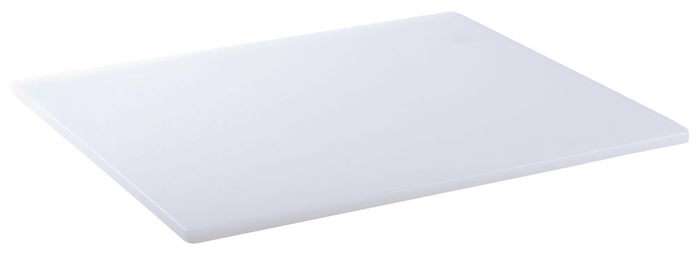 Cutting Board Poly White 18 x 24 x 1/2