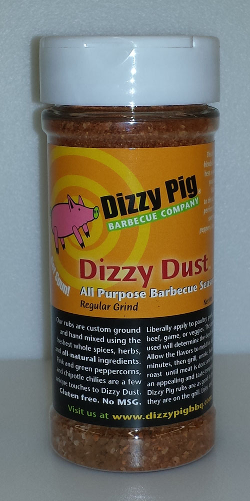 Dizzy Dust Regular Grind 8 Ounce Shaker Bottle