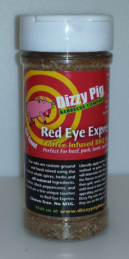 Dizzy Pig Red Eye Express 8 Ounce Shaker Bottle