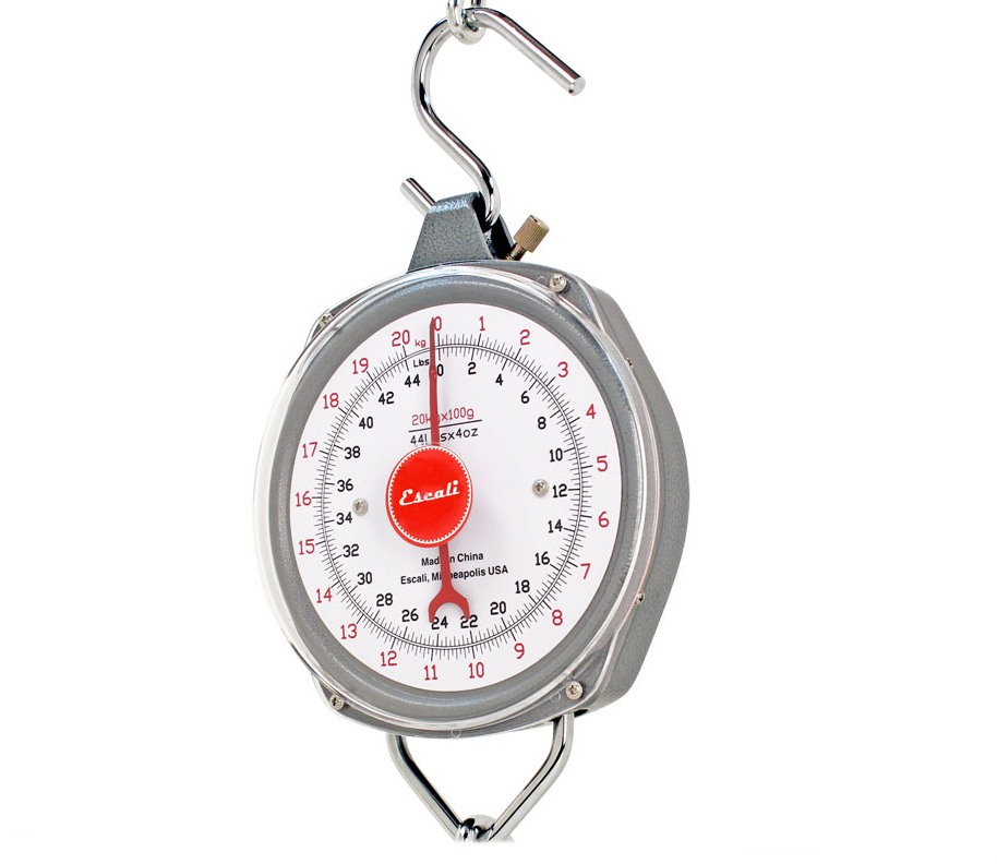 Escali H220100 H-Series Hanging Scale 220 Lb THUMBNAIL