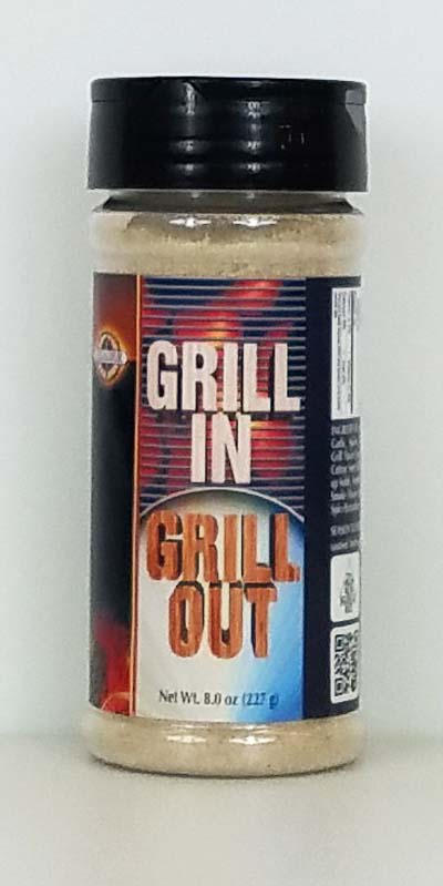 Excalibur Grill In - Grill Out Seasoning 8oz_THUMBNAIL
