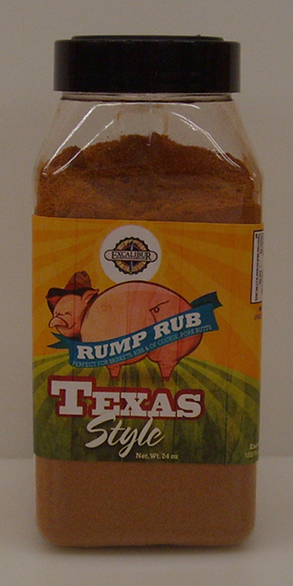 Excalibur Rump Rub Down Home Texas Style 24 oz