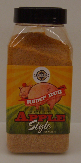 Excalibur Rump Rub Sweet and Sassy Apple 28 oz