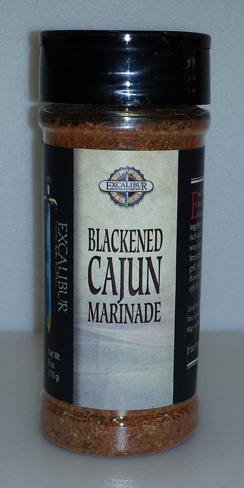 Excalibur Blackened Cajun 6oz THUMBNAIL