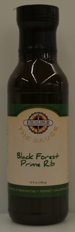 "Excalibur ""The Sauce"" Black Forest Prime Rib Glaze 12 Ounce"