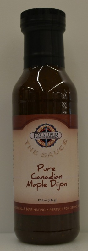 "Excalibur ""The Sauce"" Pure Canadian Maple Dijon Sauce 12 Ounce"