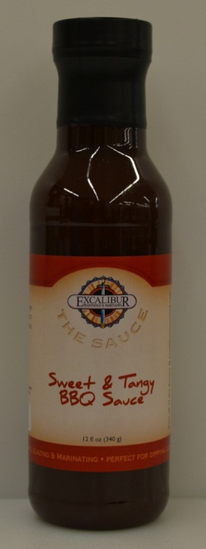 "Excalibur ""The Sauce"" Sweet N Tangy BBQ Sauce 12 Ounce"