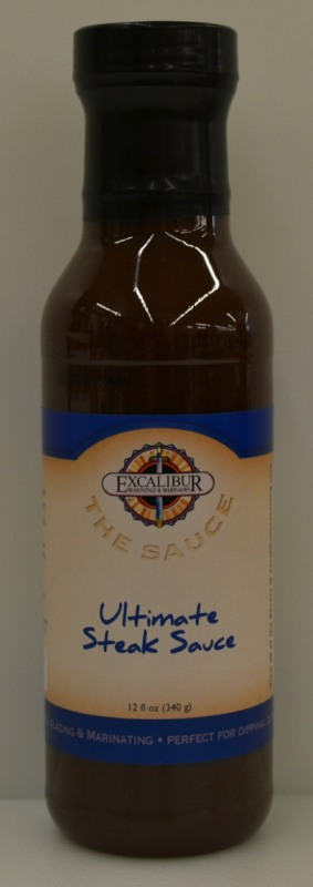 "Excalibur ""The Sauce"" Ultimate Liquid Steak Sauce 12 Ounce"