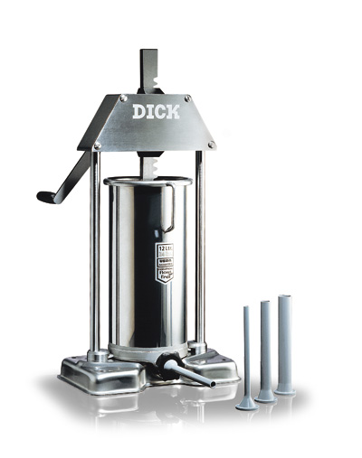 F Dick Sausage Stuffer, Manually Operated 18 LB