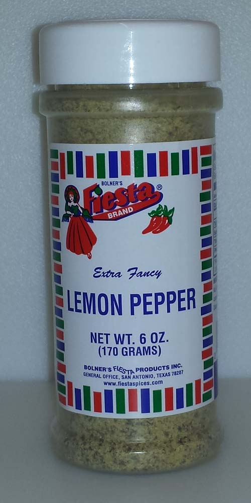 Fiesta Spice Lemon Pepper 6 Ounce