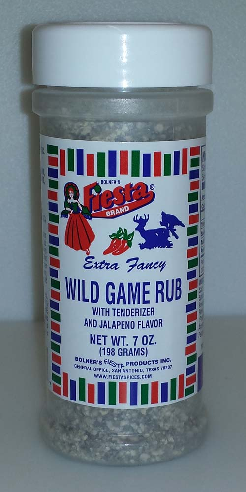 Fiesta Spice Wild Game Seasoning 7 Ounce THUMBNAIL