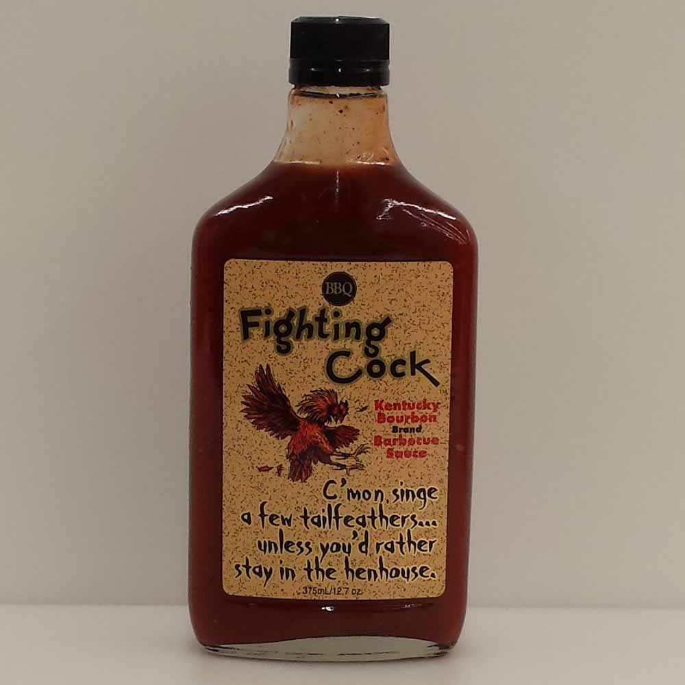 Fighting Cock Kentucky Bourbon BBQ Sauce 375 ML