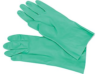 Glove Green Nitrile Size 10 pair_LARGE