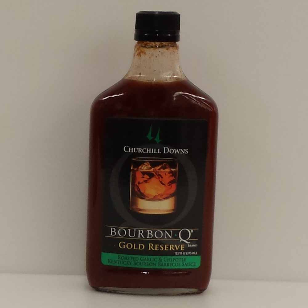 Bourbon Q  Churchill Downs Gold Reserve BBQ Sauce 375 ML