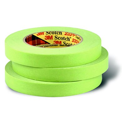 Green Freezer Tape 3/4 Inch x 180 Ft Case of 48 Rolls