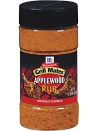 McCormick Grill Mates Applewood Rub 9.25 OZ LARGE