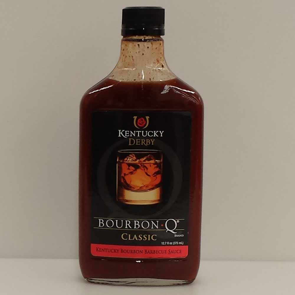 Bourbon Q Kentucky Derby Classic BBQ Sauce 375 ML