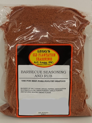 AC Leggs Bulk BBQ Seasoning and Rub Blend #107-25 LB