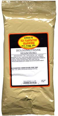 AC Leggs Bologna/ Franks Seasoning Blend #125