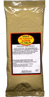 AC Leggs Old Plantation Chorizo Seasoning