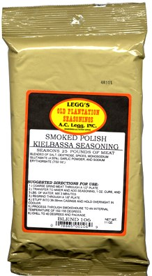 AC Leggs Old Plantation Smoked Polish Sausage Seasoning