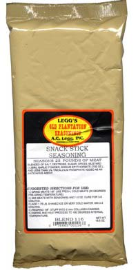 AC Leggs Old Plantation Snack Stick Seasoning