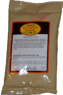 AC Leggs Mesquite Marinade Blend #142 Case of 24
