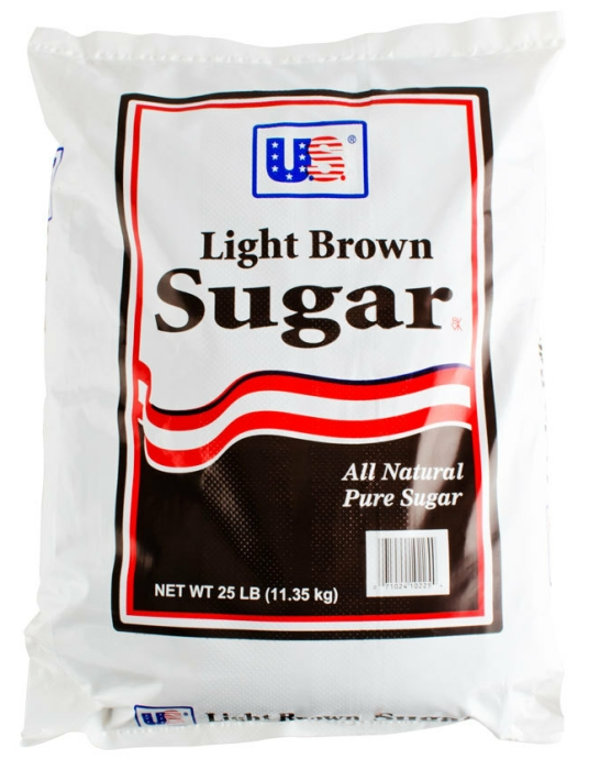 Light Brown Sugar - 25lb. bag