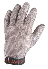 Stainless Steel Metal Mesh Glove Whiting & Davis_THUMBNAIL
