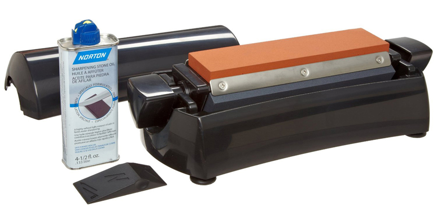 Norton IM200 8 Inch 3 In 1 Multi Oilstone Professional Sharpening System