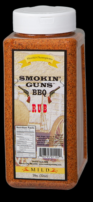 Smokin Guns BBQ Mild Rub 2 Pound Jug THUMBNAIL