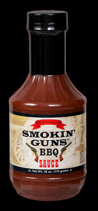 Smokin Guns BBQ Sauce 18 Ounce Bottle