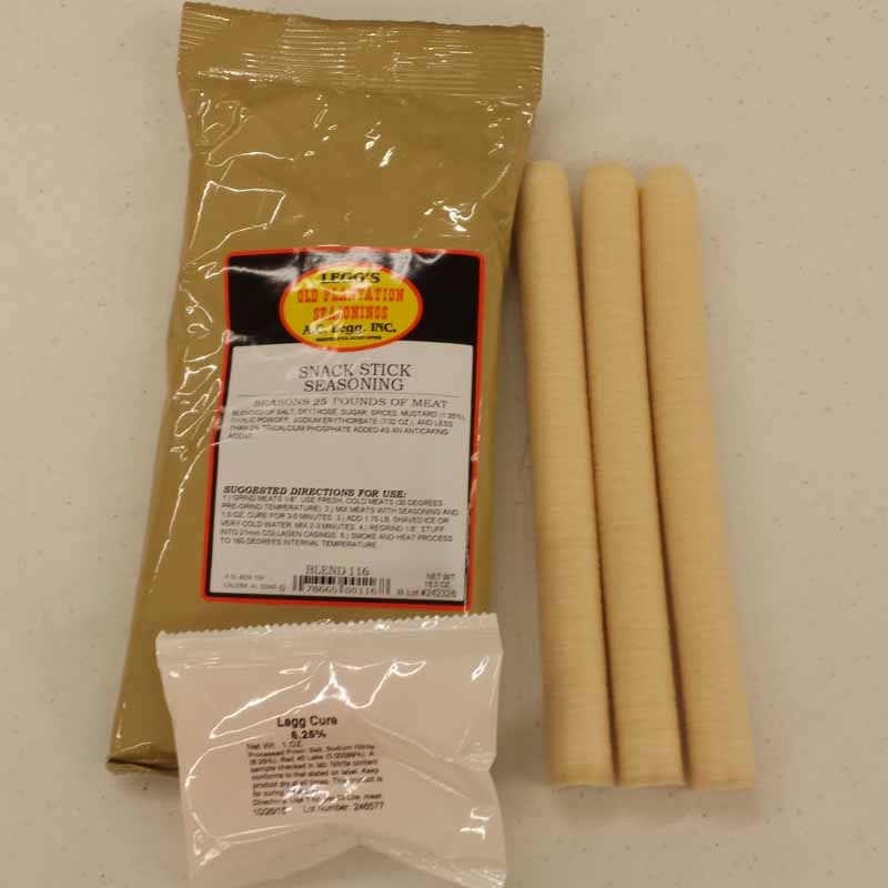 25 Pound Snack Stick Kit