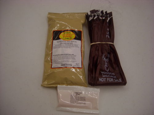 Summer Sausage Kit Makes 25 LB