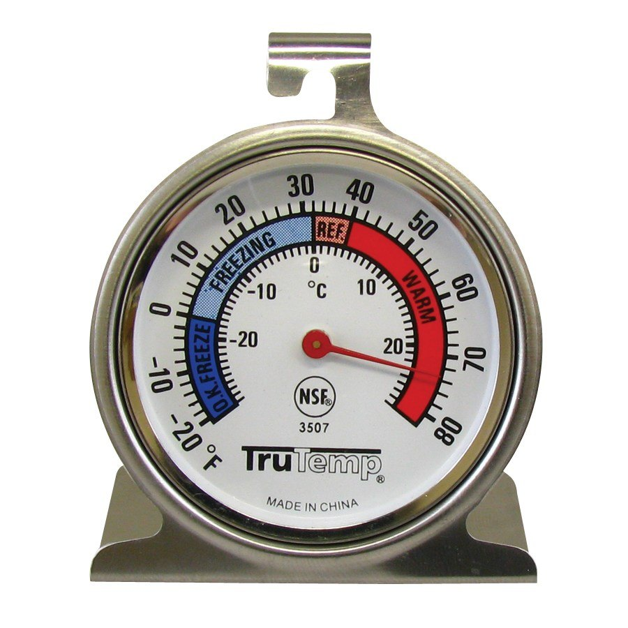 Taylor TruTemp Refrigerator Freezer Thermometer THUMBNAIL