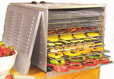 Weston Stainless Steel Food Dehydrator #74-1001-W