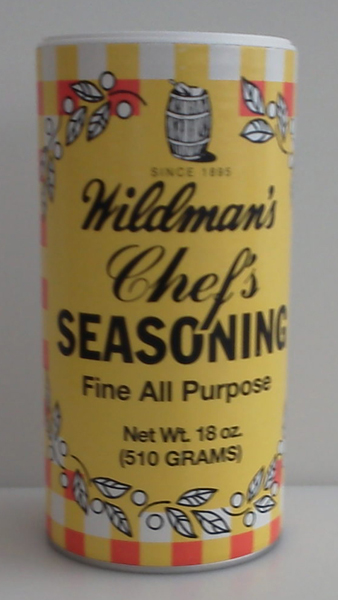 Wildman's Chef's Seasoning 18oz