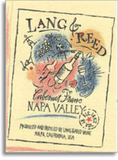 Wine Label - Lang & Reed 2016 Cabernet Franc THUMBNAIL
