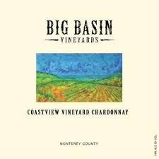 Wine Label - Big Basin 2016 Chardonnay, Coastview Vineyard THUMBNAIL