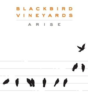 Wine Label: Blackbird Vineyards 2018 Arise LARGE