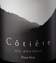 Wine Label - Cotiere 2018 Pinot Noir Sta Rita Hills THUMBNAIL