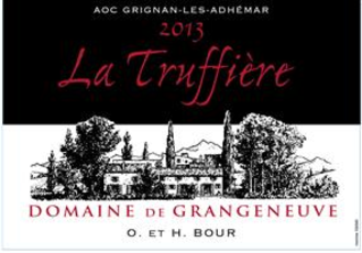 Red Rhone Wine Label - $21.99 THUMBNAIL