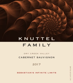 Wine Label: Knuttel Family 2017 Cabernet, Dry Creek Valley THUMBNAIL