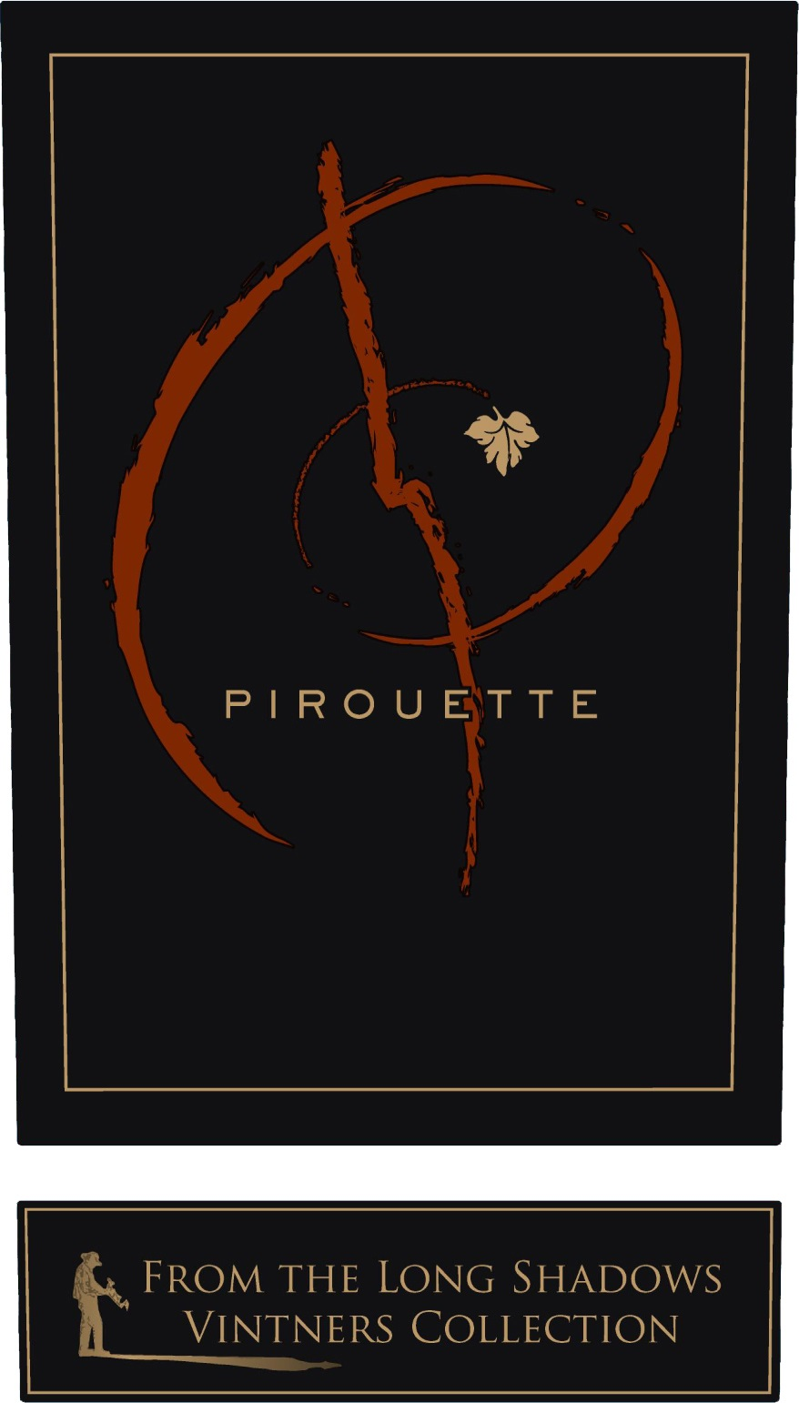 Wine Label - 2013 Pirouette, Bordeaux Blend, Columbia Vly WA THUMBNAIL